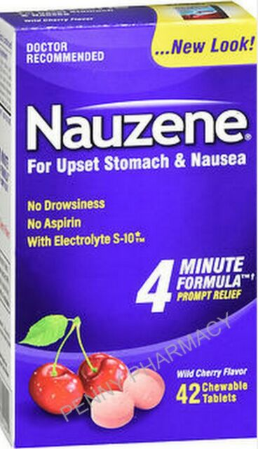 Nauzene Nausea Relief Chew Tabs A++ for PREGNANCY or ...