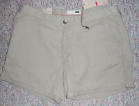 Levi's Tan Low Rise Short Shorts With 5 Inseam And Cuffs Size 31 Or 14