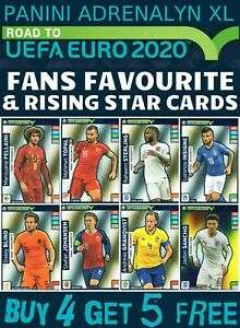 ADRENALYN-XL-ROAD-TO-EURO-2020-FANS-FAVOURITE-RISING-STAR-CARDS-BUY-4-GET-5-FREE
