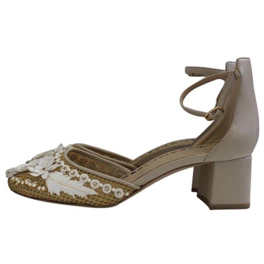 Marchesa bordada, tobillos, zapatos desnudos, SZ  39.1325.