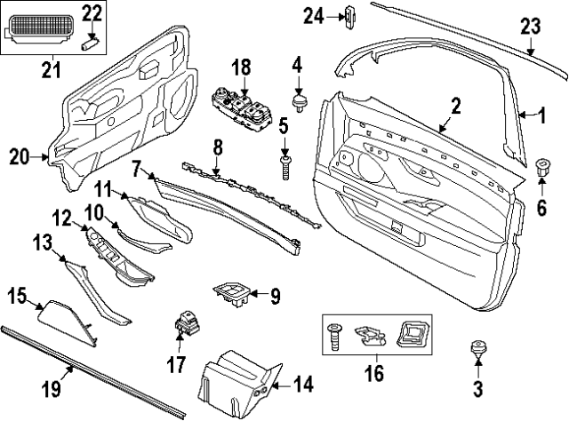 Genuine BMW E34 Sedan Wagon Door-Lock Cable Left OEM 51218148619