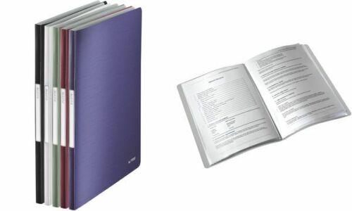 PP arktik-weiß mit 40 Hüllen A4 LEITZ Sichtbuch Style
