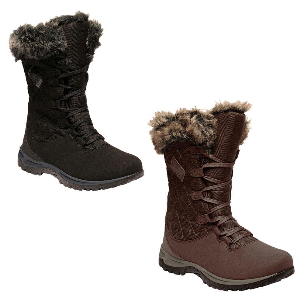 Winter Thermo Newley damen Regatta Snow Quilted Stiefel