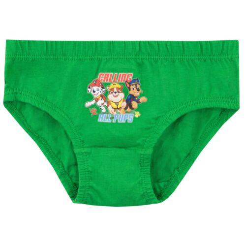 Paw Patrol Underwear Pack of 3Boys Paw Patrol UndiesKids Paw Patrol Briefs