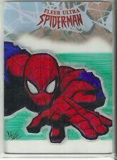 2017 Marvel Fleer Ultra Spider-Man Plexiglass Sketch Card - William O'Neill