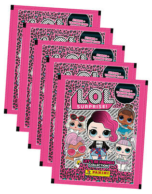 1 álbum Panini Lol L.o.l surprise sticker 25 imágenes-nuevo Booster 5 bolsas