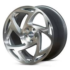 """18"""" Radi8 R8S5 Wheels - Matt Silver Machined - VW / Audi / Seat - 5x100"""