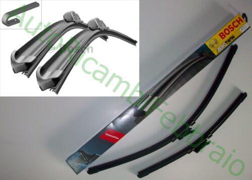 KIT COPPIA SPAZZOLE BOSCH AEROTWIN AR551S RENAULT MEGANE I GRAND 07.98 AL 10.01