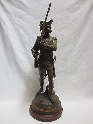 """Vornehm """"charles Anfrie"""" (1833-1905) - FranzÖsischer """"revolutions-soldat"""" - 64cm -selten"""