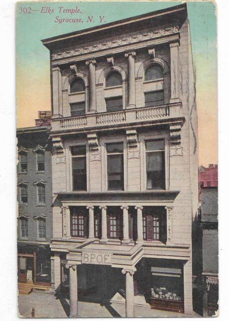 SYRACUSE, NEW YORK  Elks Temple Circa ? 1911 ?