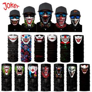 Multi-Purpose Clown Hero Style Fishing Face Mask Headwear Neck Tube ... b139f685b15c