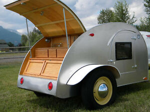 Build your own 8' Teardrop Camper Trailer (DIY Plans) Fun to build ...