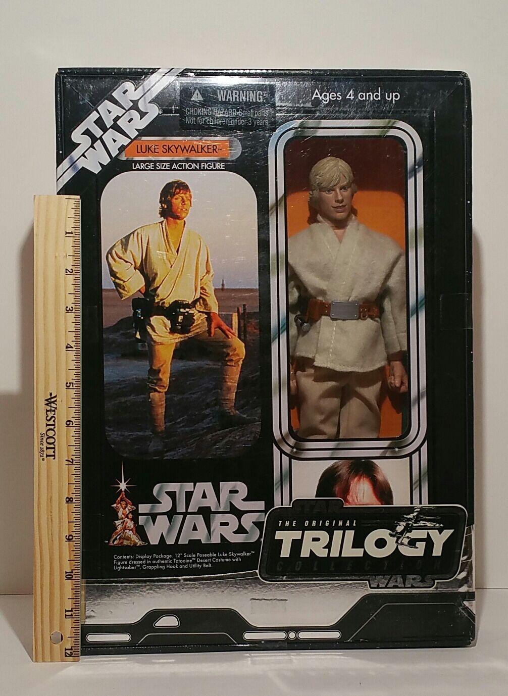 Star - wars - luke skywalker  tatooine  - trilogie collection 12 - 2004 mib