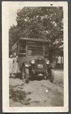 Vintage Photo Girls w/ Bus 1925 REO Speedwagon Truck 773401