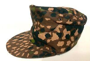 WWII WW2 GERMAN ARMY ELITE DOT44 CAMO FIELD CAP