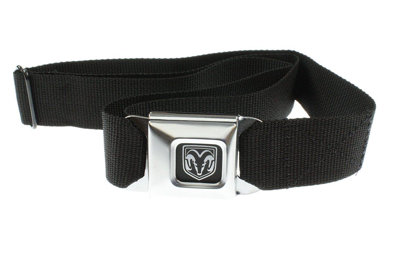 Original Black Dodge Ram Logo Seat Belt Belt Buckle Buckle-Down Pants