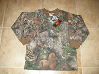Boys Size 4/5 Long Sleeve Camouflage Shirt Made In Usa