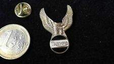 Triumph Retro Logo Pin Badge Adler Gold Mottorrad Biker