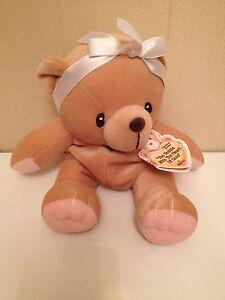 Enesco-Cherrished-Teddies-With-The-Heart-of-Gold-Plush-Stuffed-Animal-7-034-New