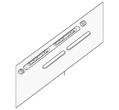 Nissan Genuine Accessories 999T6-WV000 U-Shape Side Step