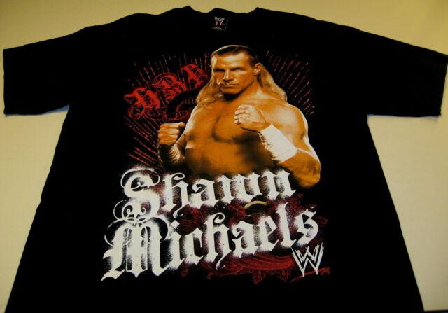 c19048a0 SHAWN MICHAELS Heartbreak Kid HBK Vintage 2007 World Wrestling WWE Shirt  New! XL