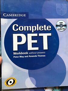 Complete Pet. Student's Book And Workbook. Con CD Audio. Per le Scuole superiori