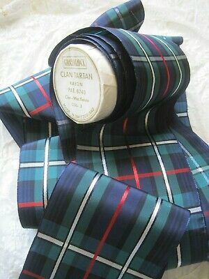 WIDE VINTAGE FRENCH 100/% RAYON RIBBON  BLACK WITH STRIPES