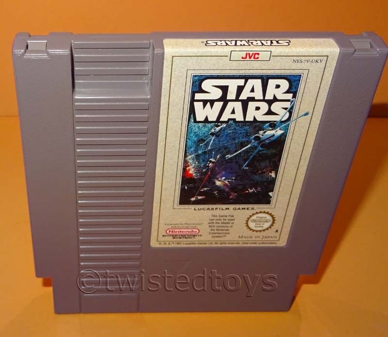 VINTAGE 1991 NINTENDO ENTERTAINMENT SYSTEM - jeu StarWars