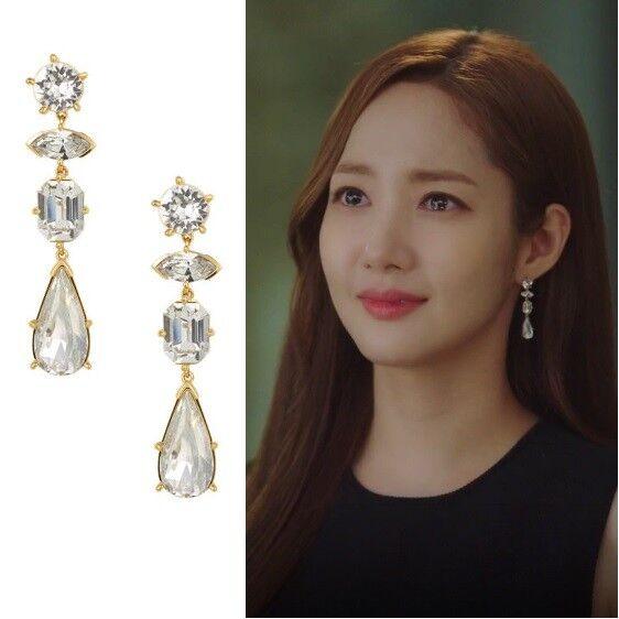 Trois rois TA0218 EARRINGS Whats wrong with secretary kim The Beauty Inside JTBC