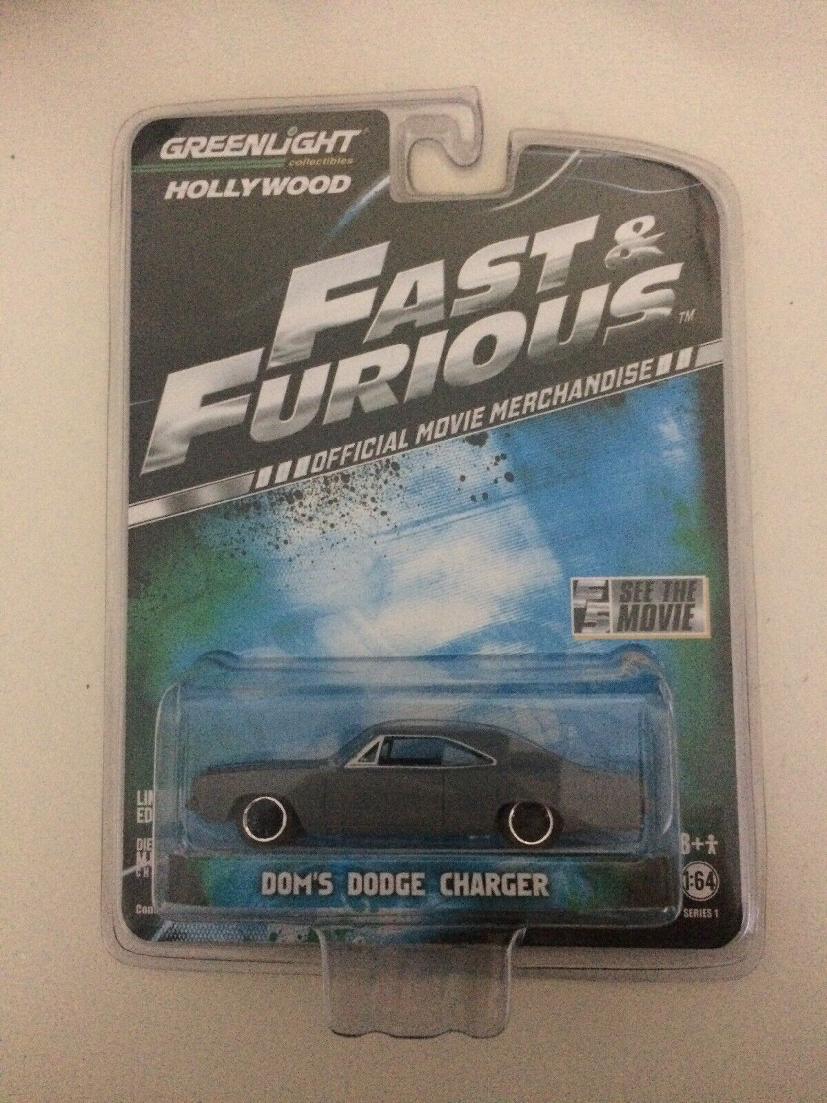 Greenlight fast and furious dom's dodge charger charger charger 6d6267