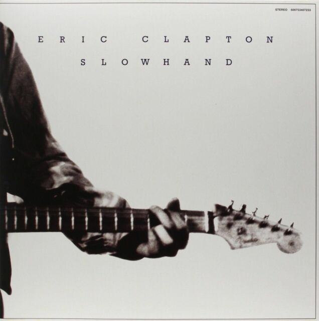 ERIC CLAPTON SLOWHAND 180 GRAM VINYL LP (35th Anniversary Remastered Edition)