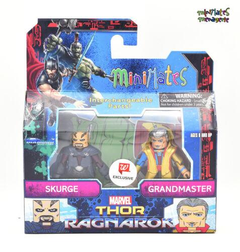 Marvel Minimates Walgreens Thor Ragnarok Movie Skurge /& Grandmaster