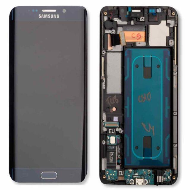 écran LCD ENSEMBLE COMPLET échange Noir pour Samsung Galaxy S6 Edge Plus G928F