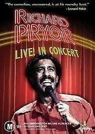Richard Pryor - Live In Concert (DVD, 2003)**R4**terrific Condition