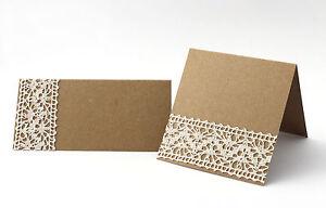 Tischkarten Hochzeit Taufe Kommunion Vintage Platzkarten Mit Druck