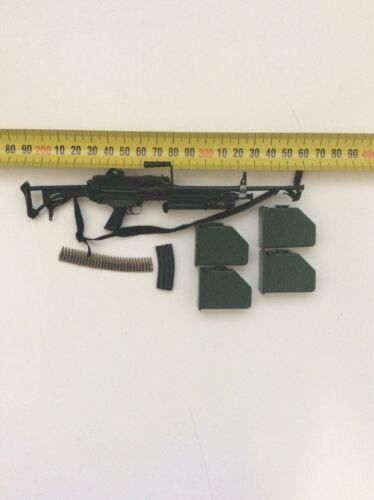 More 1//6 Soldier Story 82nd Airborne PanamaM249 MK1 Machine Gun