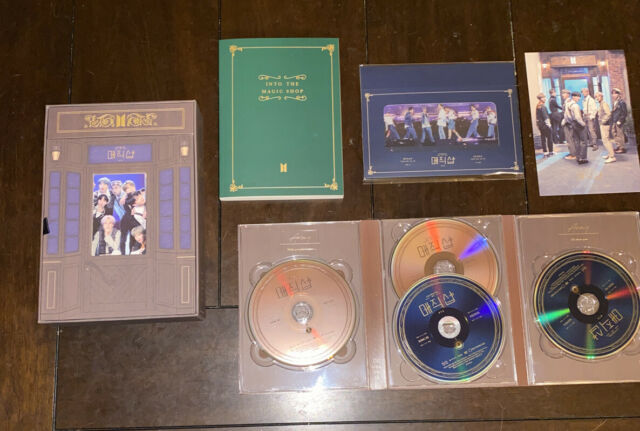 BTS Official 5th Muster Magic Shop 2019 DVD No Photocard