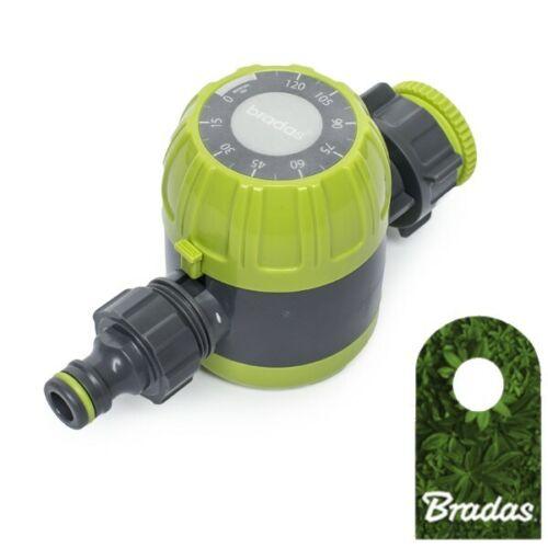 Bewässerungsuhr 120min Wasserzeitschaltuhr LIME LINE LE-8001 Bradas 2211