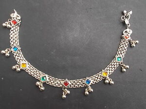 Bracelet-de-Cheville-Artisanat-Inde-Kutch-Gujarat