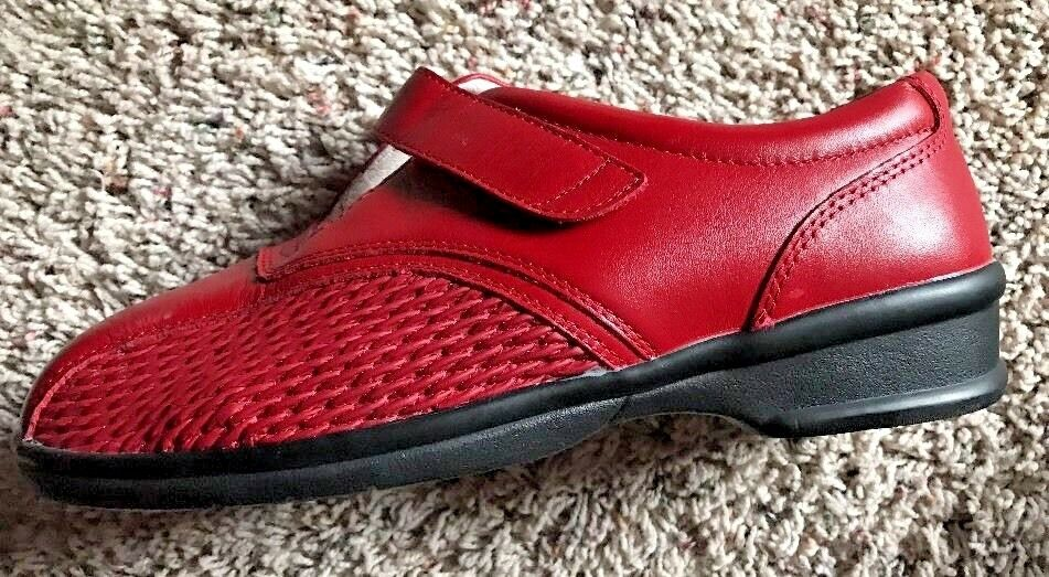 Para Mujer Zapatos Casuales De Cuero Caminar Confort Propet Propet Propet rojo Tab 9 W D  venta al por mayor barato
