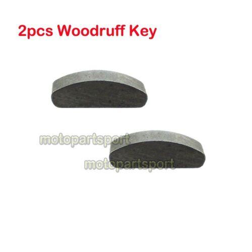 Woodruff Key For 110cc 125 140cc Pit Dirt Bike Crank Flywheel Timing Key Locater
