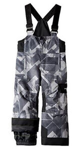 Obermeyer Kids Volt Novelity Bib Snow Pants,Winter Pant, Size 4 Toddler Boys,NWT