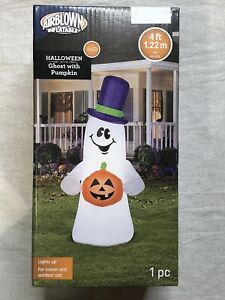 Ghost-with-Pumpkin-Halloween-Airblown-Inflatable-GEMMY-4ft-Porch-Greeter-2020