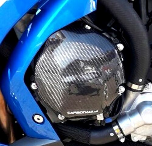 SUZUKI gsxr1000 2017-2019 l7 l8 l9 CARBON Lima Coperchio Motore Coperchio Engine Carbone