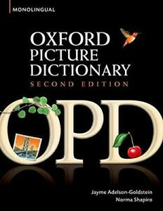 Oxford-Picture-Dictionary-by-Jayme-Adelson-Goldstein-NEW-Book-FREE-amp-FAST-Deli