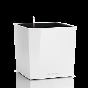 Lechuza Cube premium 30 blancoo alto brillo, all-in-one-set nuevo embalaje original
