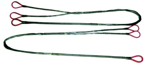 """NEW PREMIUM  PSE FANG CROSSBOW STRING 37 1//8/"""" and cables complete set  21 3//8/"""""""
