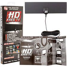 As Seen On TV Indoor HD Free Television Digital Antenna Major Networks Signals