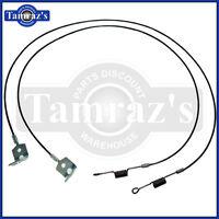1967-1969 Camaro & Firebird Convertible Top Torsion Cables - Pair