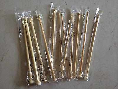 Bamboo Crochet Hook Size 3.5 mm // US E4 // CDN UK 9 Ships From USA